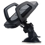 BASEUS Mini Car Mount [SUGENT-XE01] - Black - Gadget Mounting / Bracket